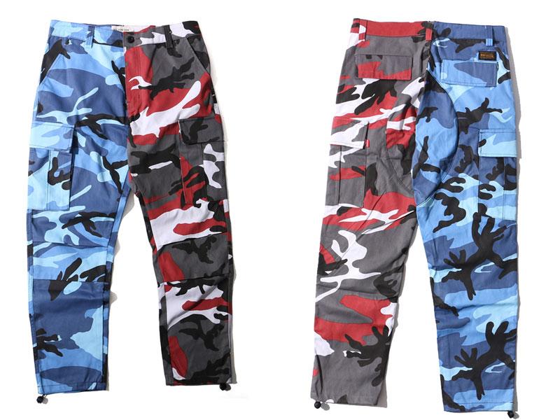 Two-Tone Camo Pants 2