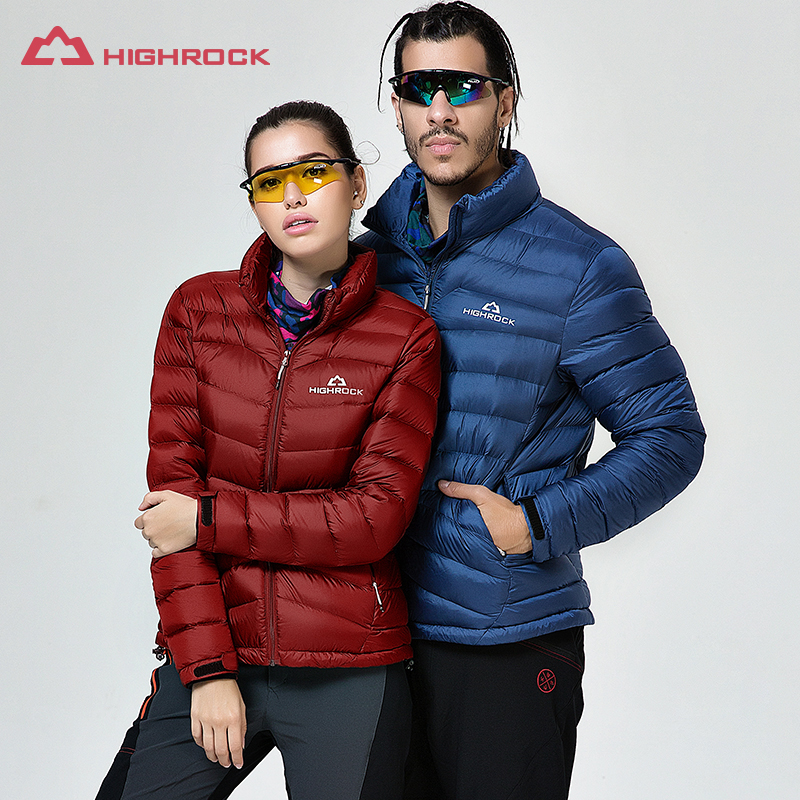 Outdoor Jackets Camping Hiking Climbing Motorcycling Sportwear New Winter Overcoat Men And Women's Thermal Goose Down Jackets
