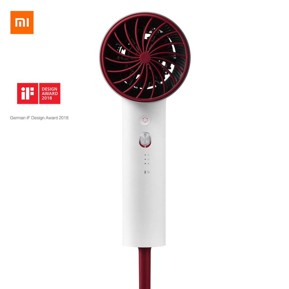 2018 new Original xiaomi mijia soocare soocas H3 hair Anion quick-drying hair 1800W For xiaomi smart home kits Mi dryer цены онлайн