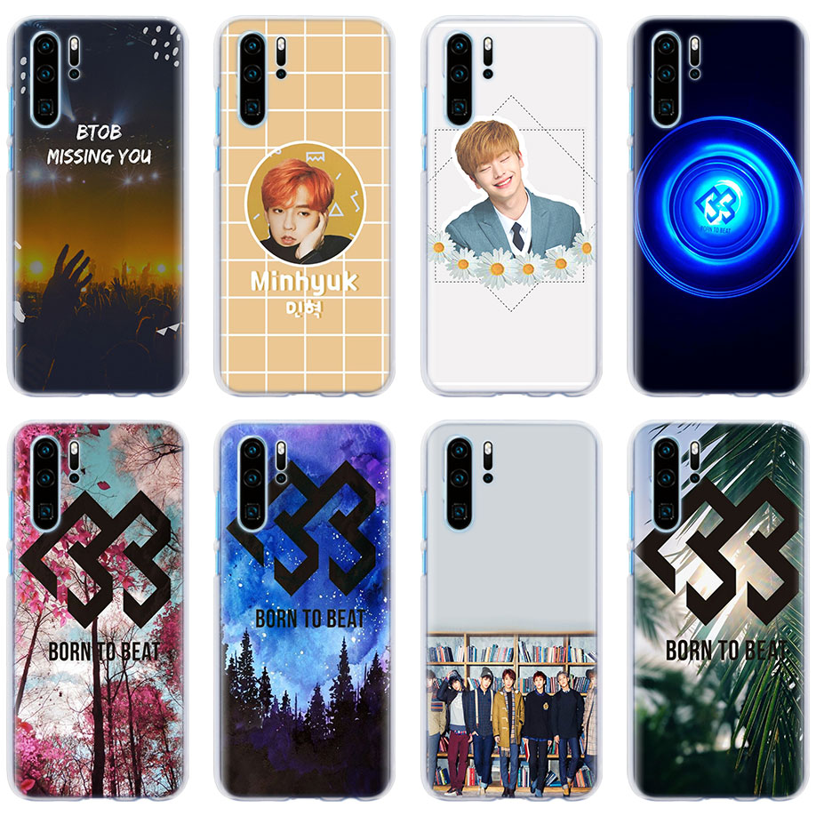 Phone Bags & Cases Cellphones & Telecommunications Frugal Btob Born To Beat Kpop Cover Cases For Huawei P30 Pro P30 P10 P20 Lite Nova 4e View 20 P Smart Plus Phone Case Coque Skilful Manufacture