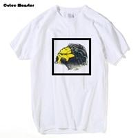 Cybernetische predator t-shirt mannen 2017 zomer alien vs predator avp t-shirt alien head gedrukt grappige top clothing 3xl