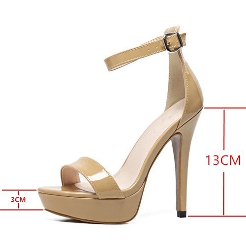 becb59c4b45f Fashion Summer Women High Heels Platform Sandals 13cm Heels Sexy ...