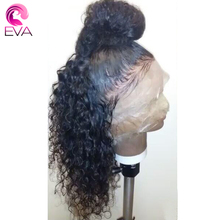 13X6 Deep Part Lace Front Human Hair Wigs 150 Density Pre Plucked Natural Hairline Brazilian Remy Hair Wigs With Baby Hair Eva