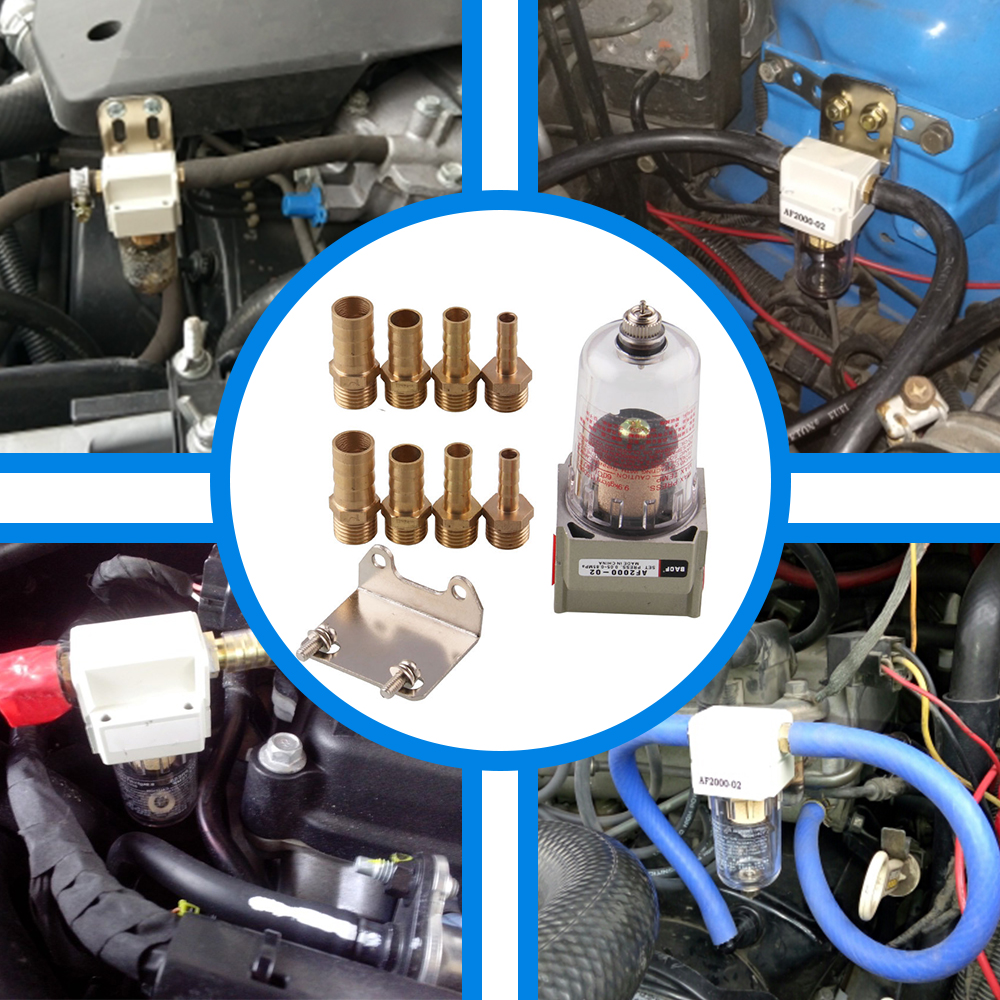 Air Oil Separator Oil Catch Can Tank  Engine Oil Filter Out Impurities Auto Accessories Universal