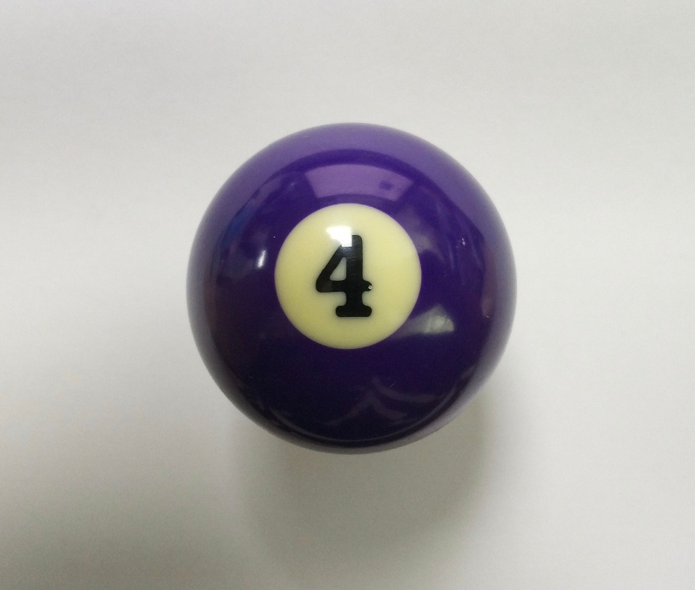 NEW Free Shipping 1pcs NO.4 Pool Table Snooker Billiard Table Cue Ball 2-1/4