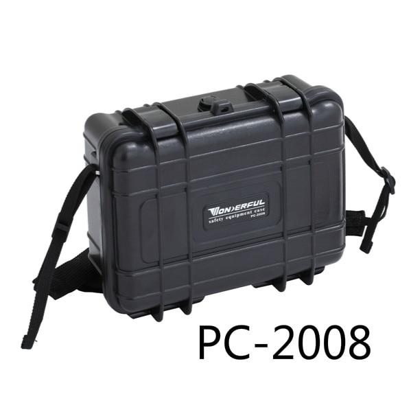 0,48 Kg 227*182*84mm Abs Kunststoff Wasserdicht Versiegelt Sicherheitsausrüstung Fall Tragbare Tool Box Trockenschrank Outdoor-ausrüstung Und Verdauung Hilft