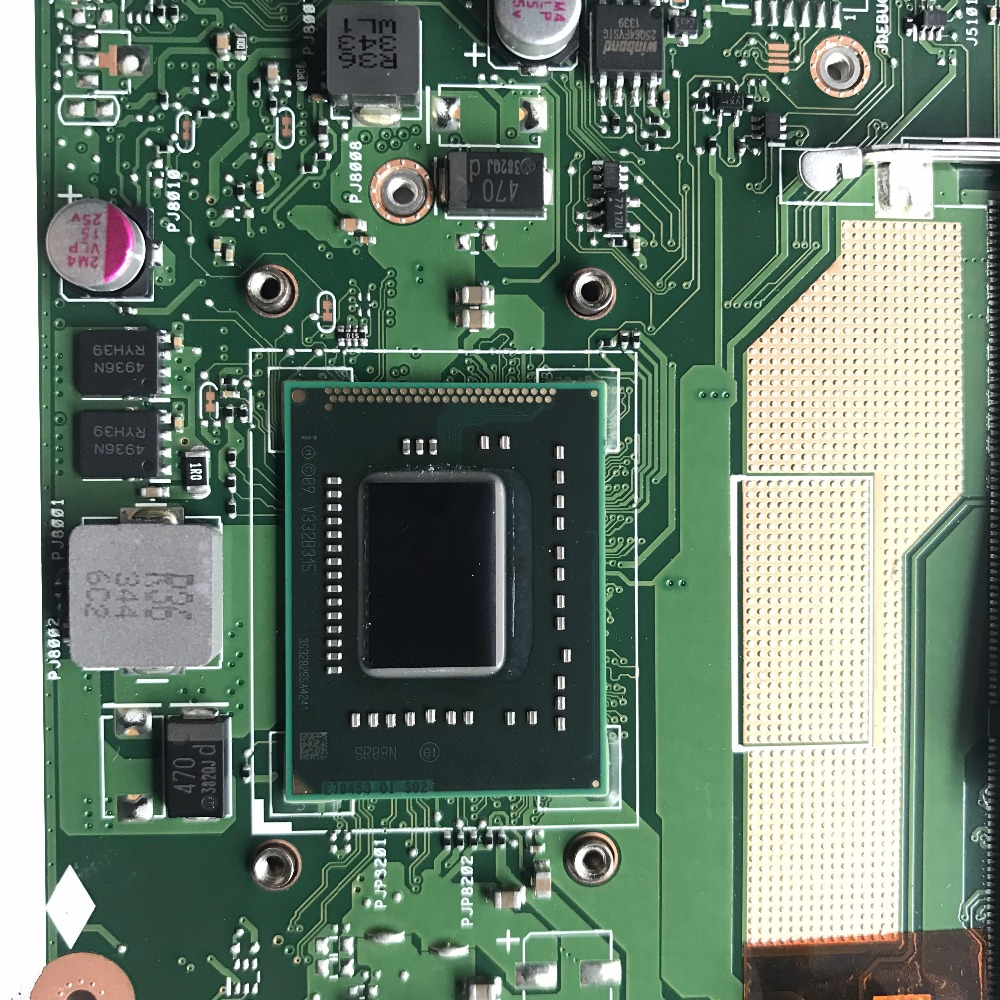 For ASUS S400C S400CA Mainboard REV 3.1 W// i5-3317U Motherboard 100/% Working