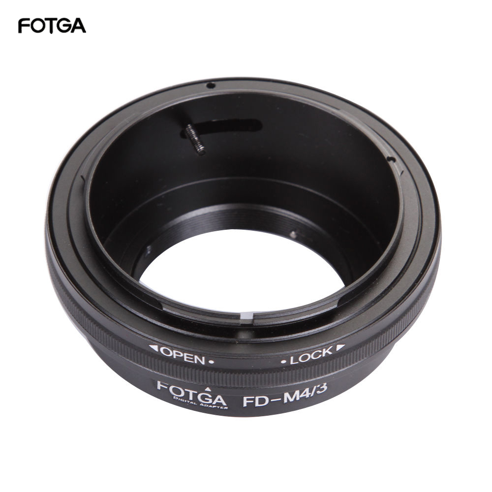 FOTGA Lens Adapter Ring for Canon FD Mount Lens to Olympus/Panasonic Micro 4/3 m4/3 E-P1 G1 GF1 GH1 EM5 EM10 GM5 Cameras image