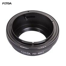 FOTGA anillo adaptador de lente para montura de Canon FD, para cámaras Olympus/Panasonic Micro 4/3 m4/3 E P1 G1 GF1 GH1 EM5 EM10 GM5