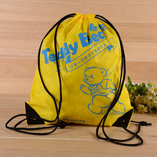 YOUQU custom design drawstring polyester bags for shoes packaging