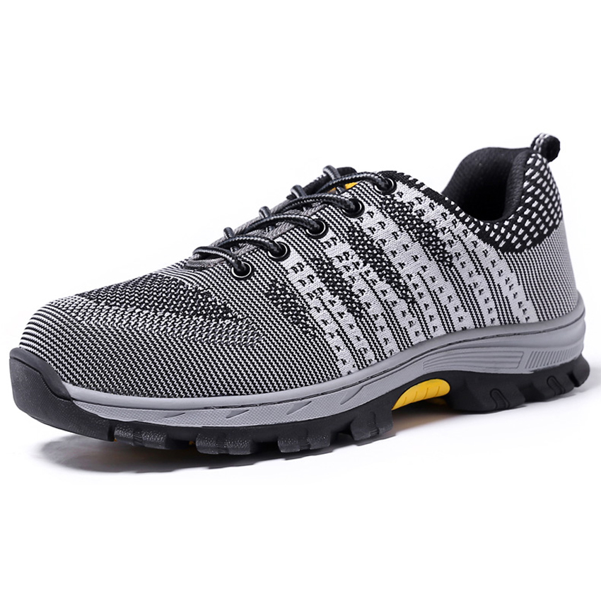 Air Mesh Working Shoes Men Safety Shoes Steel Toe Cap For Men Puncture Proof Durable Breathable Protective Footwear Work Shoes Consumers First Back To Search Resultsshoes Men's Shoes