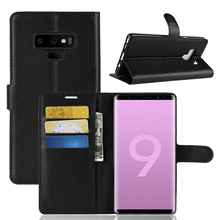 For Samsung Galaxy Note 9 8 Case Leather Flip Wallet Cover for M20 M10 Xcover 4 Z4 Coque With Card Holder