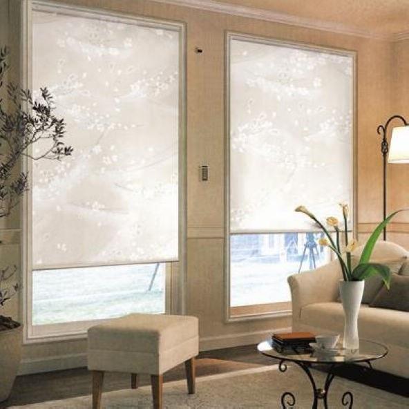 Transluzenten Sonnencreme Rollos in Weiß 35% Polyester 65% PVC ...
