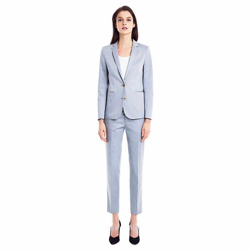30ef3a4ce88 Для женщин Брючные костюмы для женщин Небесно-Голубой Для женщин Смокинги  для женихов шалевыми лацканами