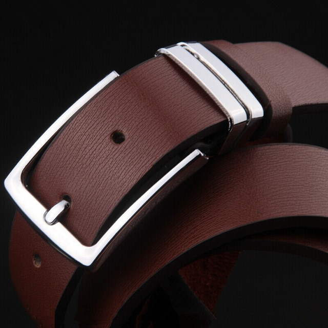 aliexpress com buy high fashion men s leather belt belt buckle high fashion men s leather belt belt buckle hot needle the most durable belt around