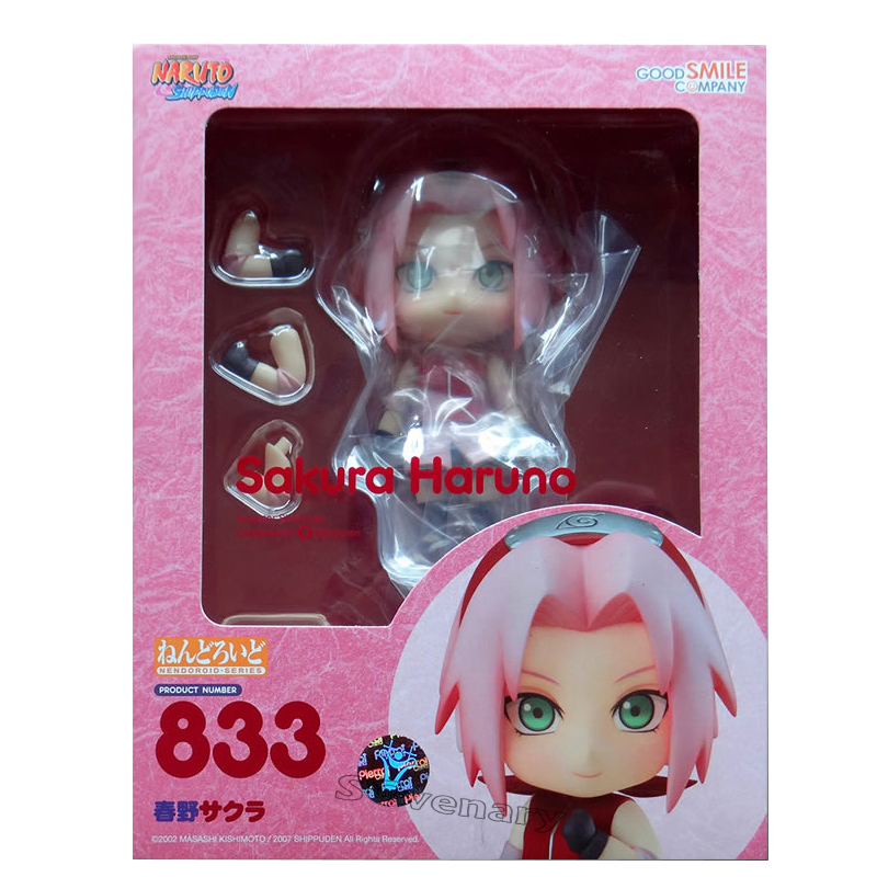 "In STOCK Good Smile Company Naruto /""Sakura Haruno/"" 833 Nendoroid Action Figure"