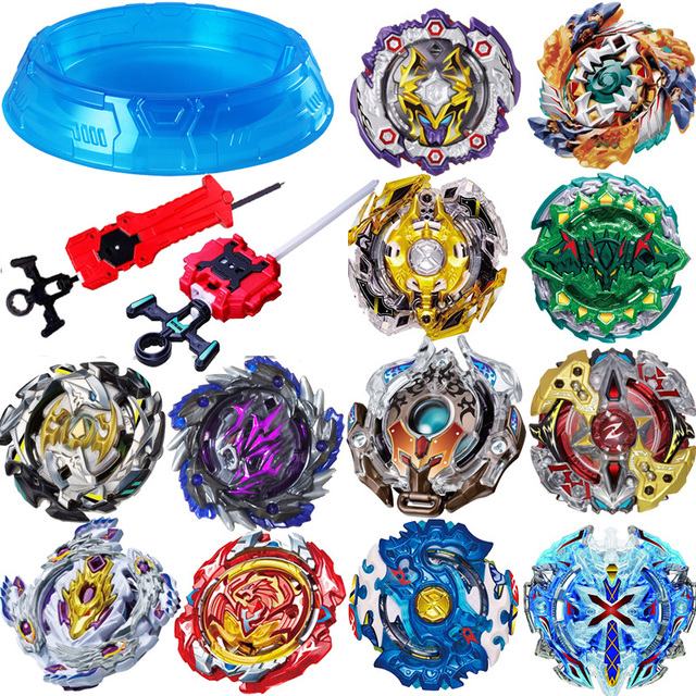 Toupies beyblade burst 2018 Beyblade metal fusion arena set Bayblade Bable / bey blade Drain Fafnir Blayblade Toys with launcher