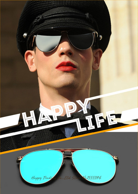 2b836d794af New 2016 Thom Browne fashion sunglasses with flat lens for women men ...