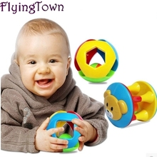 3 PCS/Set Lovely Funny Baby Rattles Plastic Music Novelty Hand Shake Bell Ring Early Learning Educational Toys Rattles toys Baby