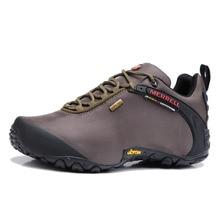 Original Merrell Men Breathable Camping Outdoor Sport Mesh Hiking Shoes  Male Waterproof Mountain Climbing Trip Sneakers 39-44