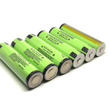 18pcs/lot New Original Protected Battery For Panasonic 18650 NCR18650BE 3200mah 3.7V Rechargeable Lithium Batteries with PCB