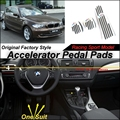 Car Accelerator Pedal Pad / Cover of Original Factory Sport Racing Model Design For BMW 1 Serie E81 2007~2011 Tuning