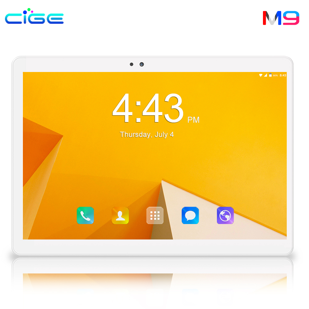 2019 New 6GB 64GB 1280*800 IPS Tablet PC 10 Inch 8 Core Android 8.0 Dual SIM Card 8MP Camera WIFI Bluetooth Smart Tablets Phone
