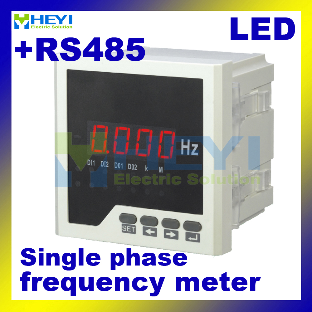 Hertz Frequency Meter : Led digital frequency hz meter hy f measuring dc