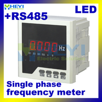 LED digital Frequency hz meter HY F measuring 0~9999(DC) or 45~65Hz (AC) frequency counter meter with RS485 communication