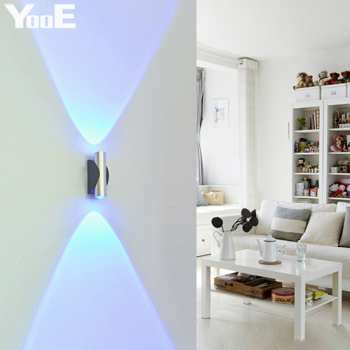 Lâmpadas de Parede yooe 2 w lâmpada de Aplicação : Quarto de Dormir