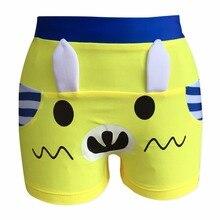 Плавки для мальчиков на шнурке водонепроницаемые быстросохнущие Короткие штаны пляжная одежда, купальники