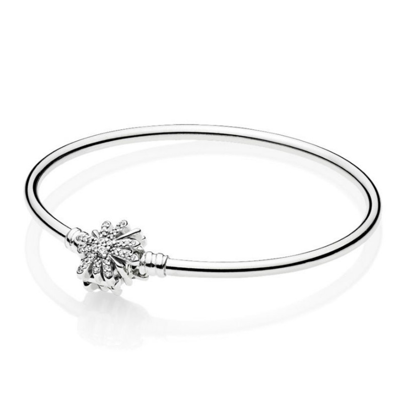 Fine Jewelry United 2019 New 100% 925 Sterling Silver Bracelet 1:1 597563cz Dazzling Fireworks Bangle Original Jewelry Women Charming Wedding Gift Jewelry & Accessories