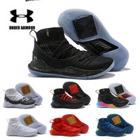 Curry 5 Men Under Armour Shoes Men UA Curry 5 Basketball Shoes zapatos hombre Outdoor Sneakers Man Athletic Sport shoes 40 46