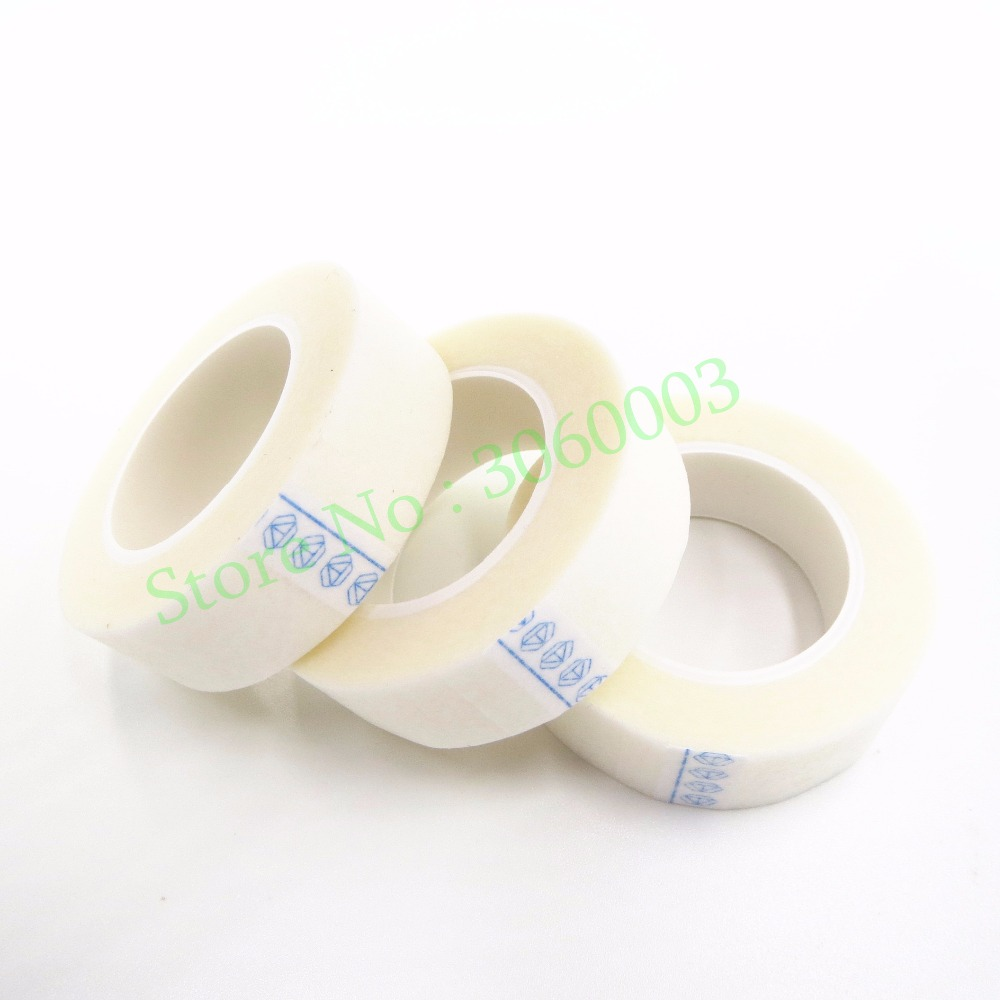 50 Rolls/lot Rolls Micropore Paper Medical Tape for Professional Eyelash Extension Supply