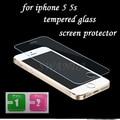 Для iphone 5s Закаленное Стекло для iphone 5s Screen Protector для iphone 5 Стекло 9H2. 5D 0.3 мм Жесткая Пленка Экрана для iphone 5 стекла