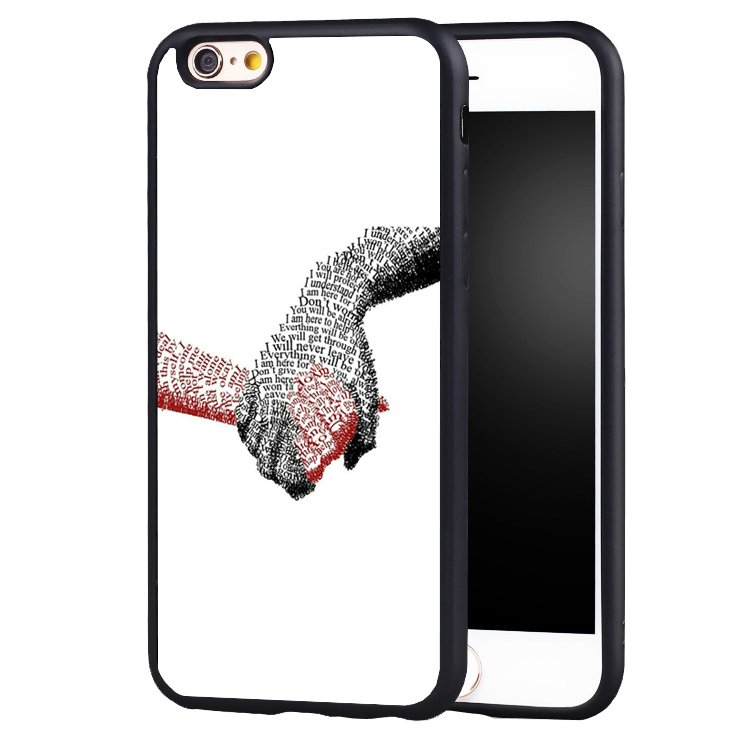 just hold hand love friend phone case cover for iphone 7 7plus 6 6splus 5 5s 5c SE
