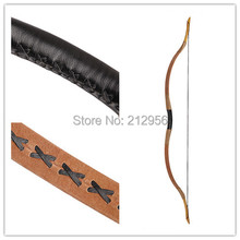 Longbowmaker Pigskin Hungarian style hunting Longbow 25-65lbs Bow Recurve bow+ String T1