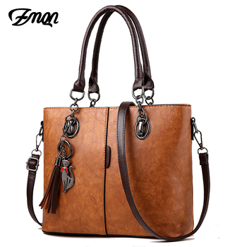 Luxury Handbags Women Bag Designer 2018 Big Ladies Hand Bag - Ladies Leather Handbag