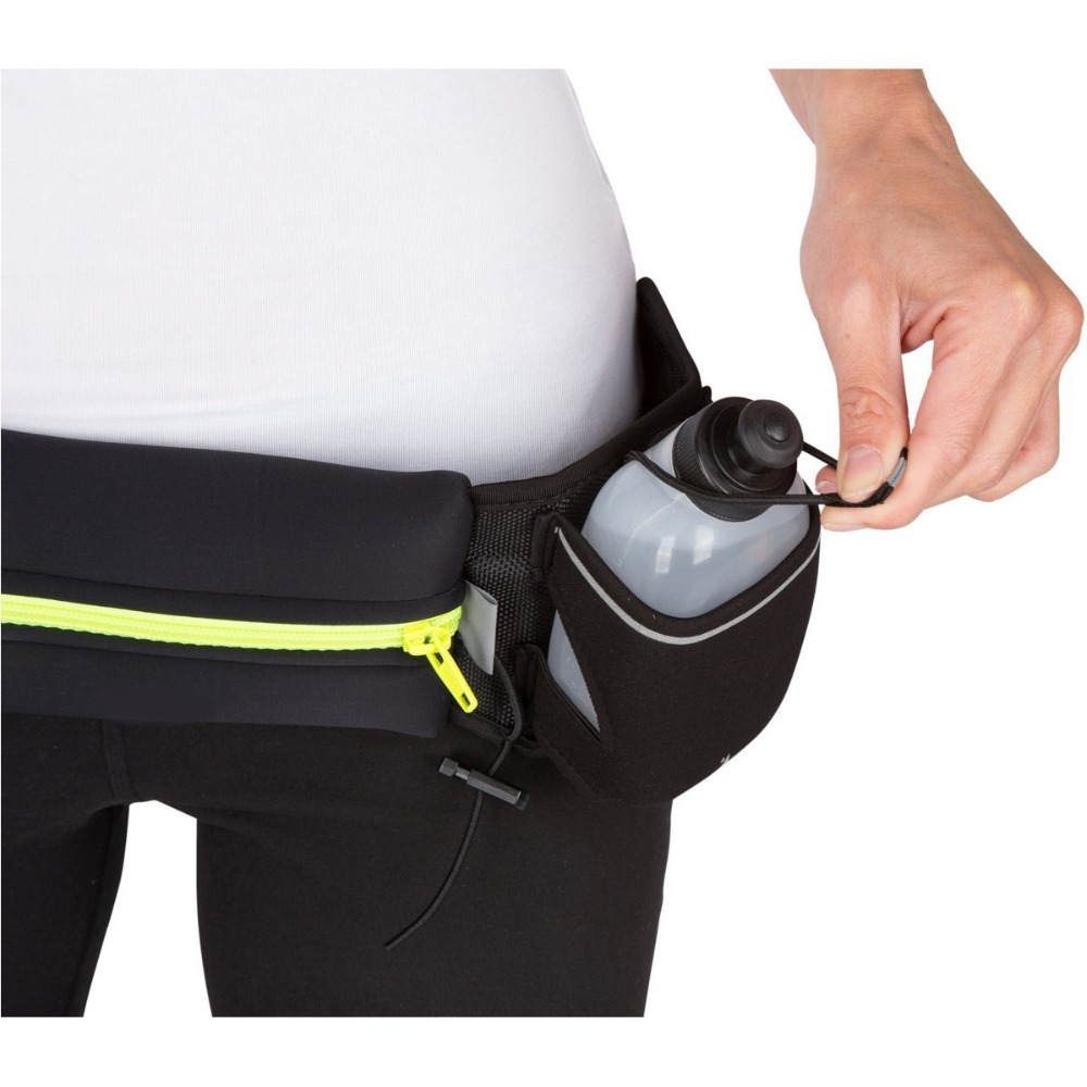 Water Bottle Belt: For Phone 5.5 Inches Unisex Outdoor Sports Running Belt