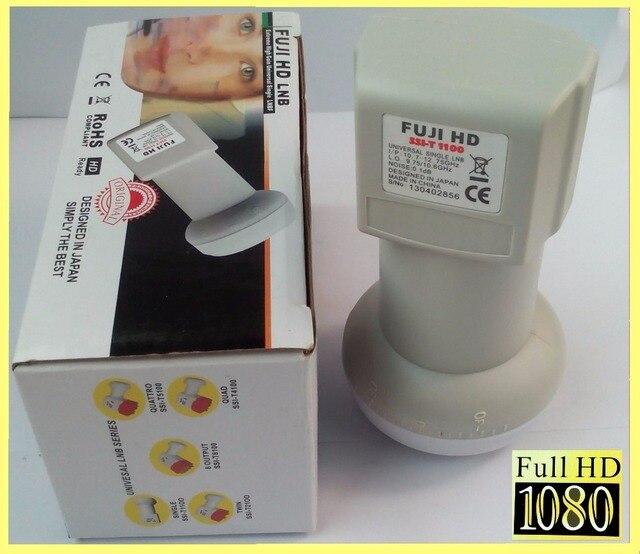 FUJI SSI-T 1100HD free shipping Best Signal digital HD Universal KU Band Single LNB High Gain Low noise satellite Dish LNB