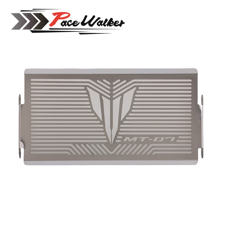 High Quality Motorcycle Radiator Grille Guard Cover Protector For YAMAHA MT07 MT-07 mt 07 2014 2015 2016 arashi motorcycle radiator grille protective cover grill guard protector for 2008 2009 2010 2011 honda cbr1000rr cbr 1000 rr