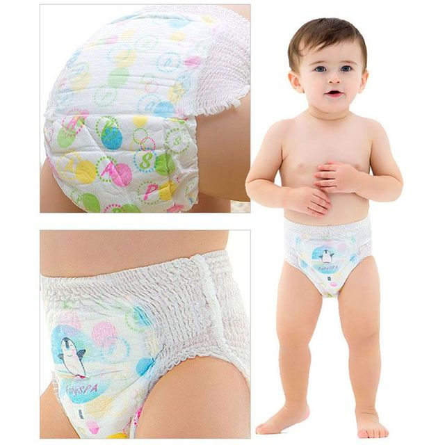 2018 Nappy Changing Diaper Baby Children Disposable Diapers Reusable Cotton Infant Cartoon Print Diaper Cover H1 4