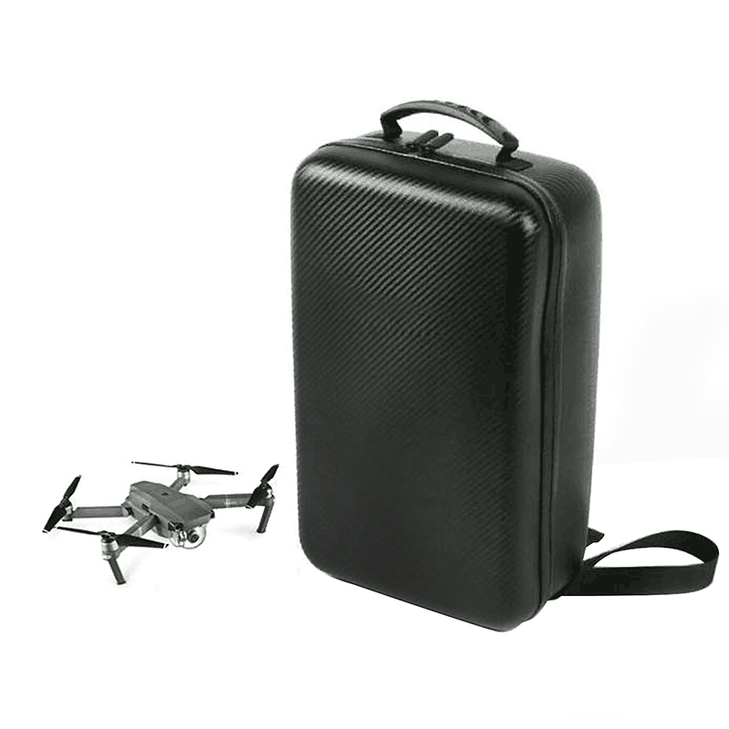 DJI Mavic Pro Camera Drone Hardshell Carbon Grain Backpack Hard Bag Waterproof Suitcase Carring Box Case rcyago safety shipping travel hardshell case suitcase for dji goggles vr glasses storage bag box for dji spark drone accessories