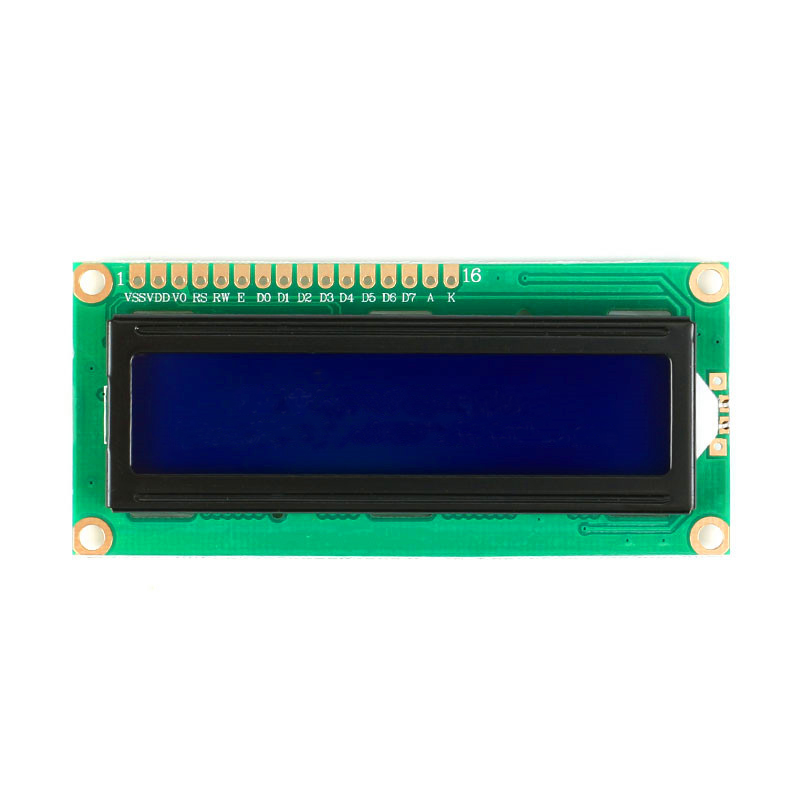 Free Shipping 3pcs/lot quality lcd1602 5V blue LCD lcd White Character Blue for Arduino Blacklight LCD Display Module