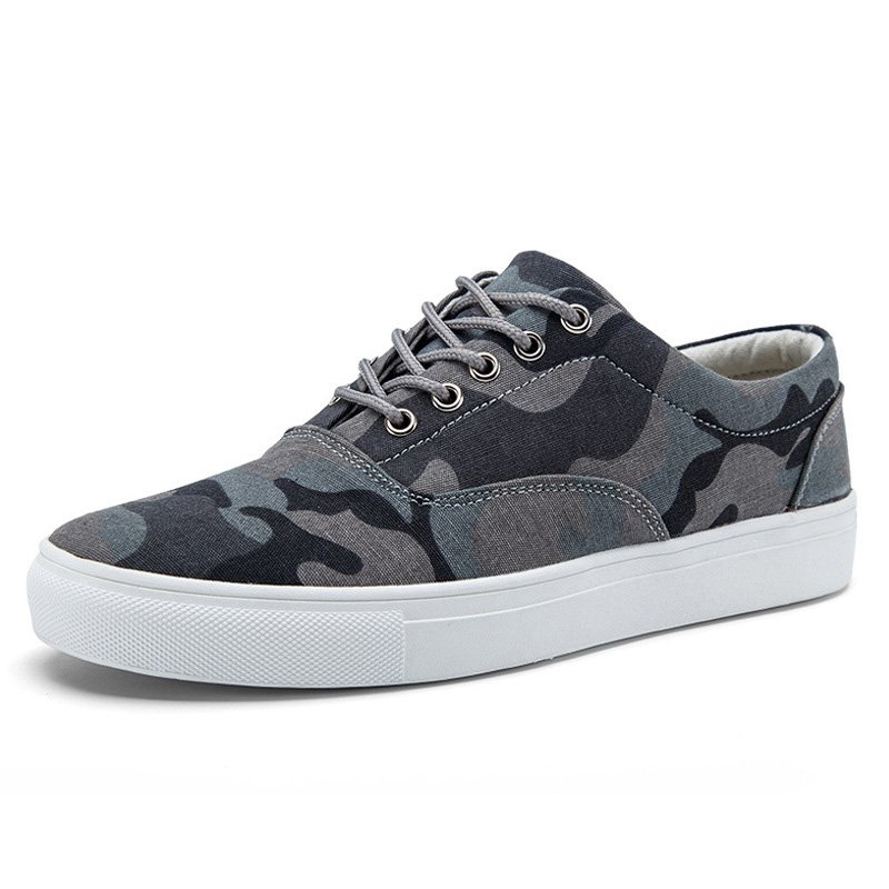 2019 New Camoufage Mens Casual Shoes Breathable Fashion Classic Outdoor Canvas for Men Zapatos De Hombre