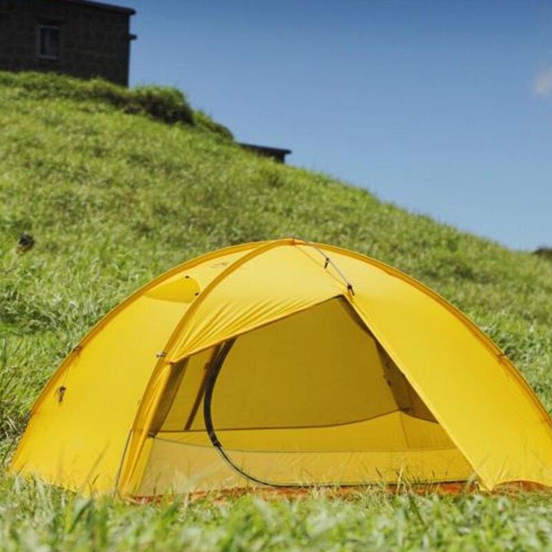 Стандартная Палатка Free Spirits TFS STARS2 (черная этикетка) Одностороннее силиконовое покрытие для 2 человек 3 сезона кемпинга - 6