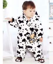 Baby Rompers Jumpsuit + Hat + Shoes Hooded Baby Infant Rompers Boys Girls Clothing Outfits Newborn Clothing