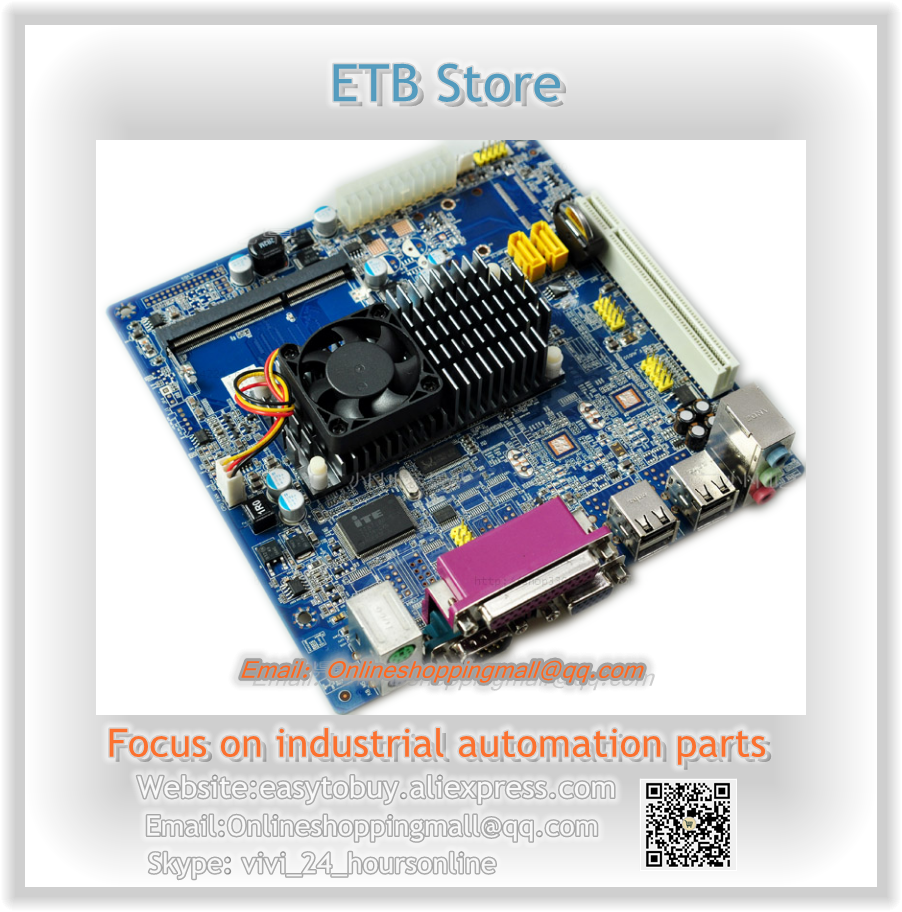 D425/D525 TOM ITX motherboard dual core ultra low power Mini industrial motherboard