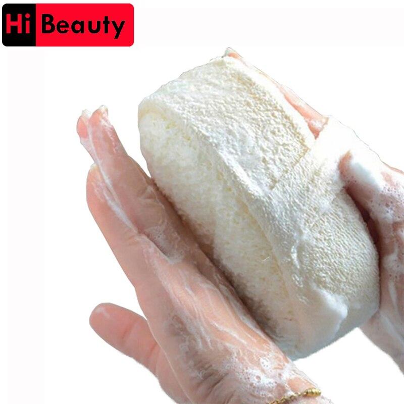 Loofah Bath Sponge Shower Body Cleaning Glove Tool Scrubber Ponge Brush Pad Horniness Remover Bathroom Supplies Random Color