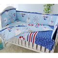 Newborn Baby Bed Set,Crib Bedding Set 5pcs/set,Nursery Bedding Set Baby Infant,Toddler Crib Bed Bumper Sheet,Bedclothes for Baby